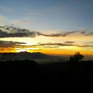 sunrise on Bromo, EPIC!